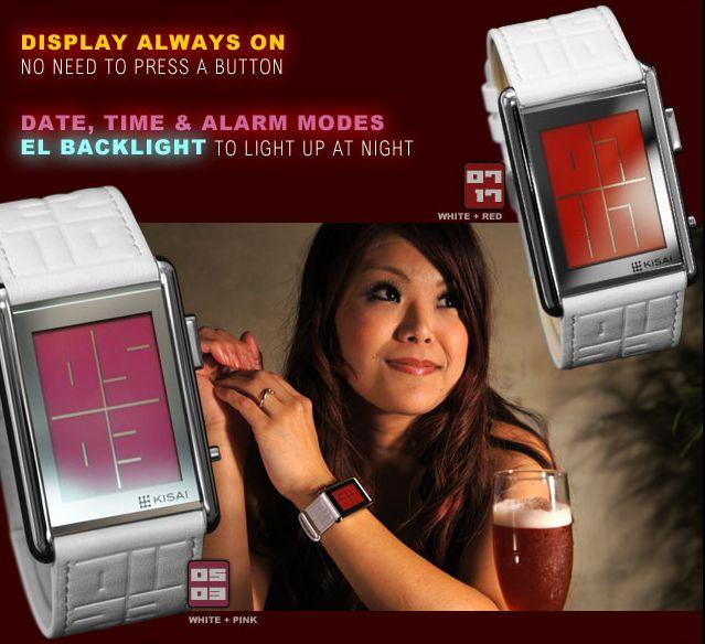 Kisai Stencil LCD Watch