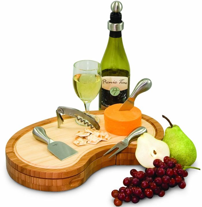 Picnic Time Bamboo Cheese Board