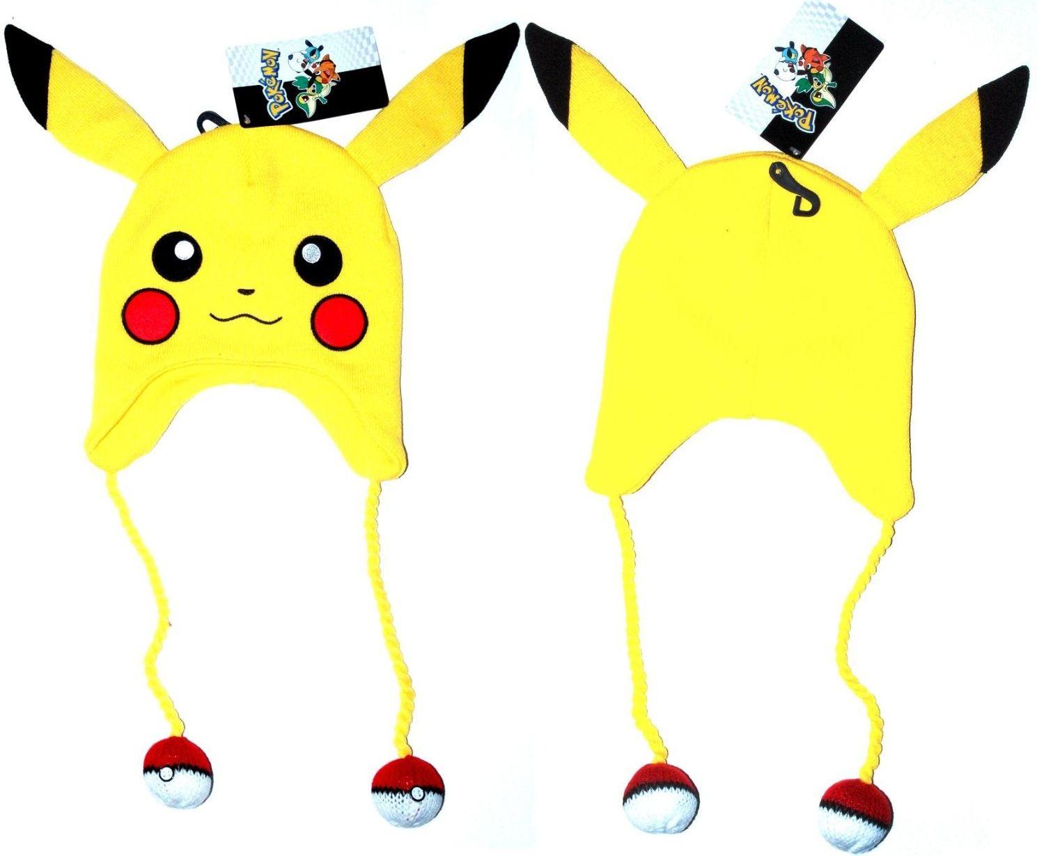 Pokemon Pikachu Plush Beanie