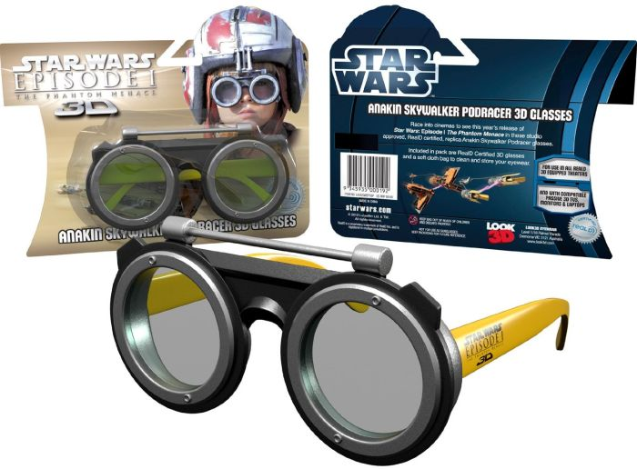 Star Wars 3D Glasses