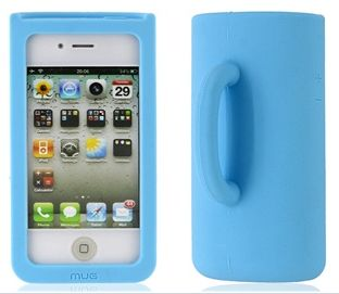 Three-Dimensional Cup Shape Silicone Protective Case for iPhone 4/4S