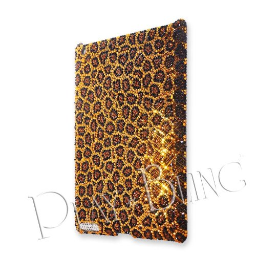 Leopard Swarovski Crystal iPad 2 Case