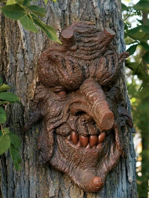 Greenman Tree Sculpture