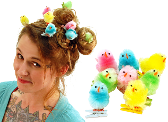 EASTER CLIP CHICKS