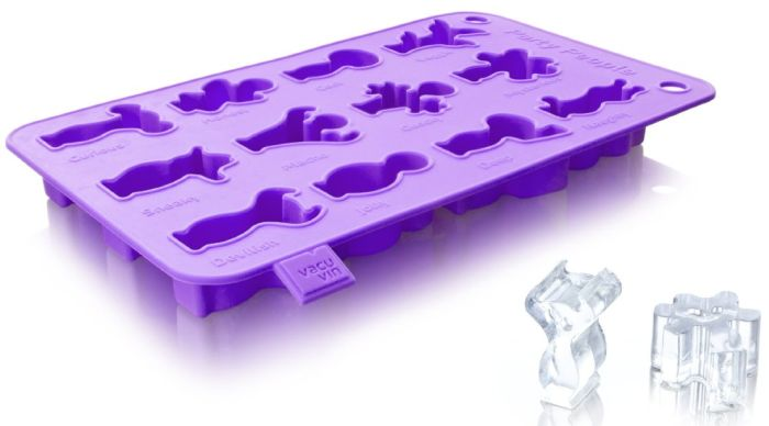 Ice Cube and Baking Tray Purple