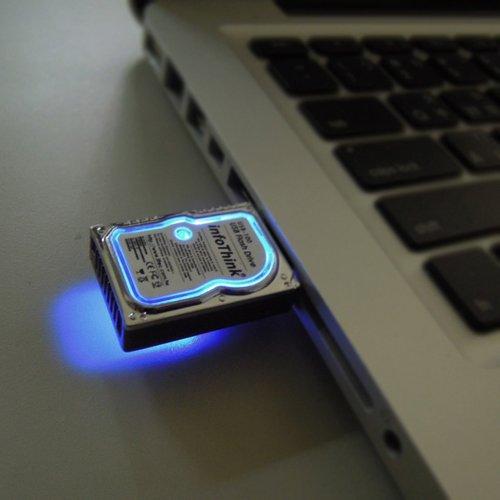 Mini Hard Disk 8 Gb USB 2.0 Flash Drive