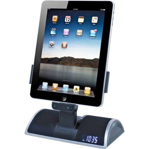 Speaker System with iPad/iPod/iPhone Dock