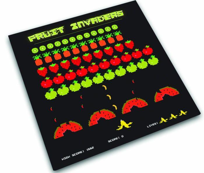 Worktop Saver, Fruit Invaders Design