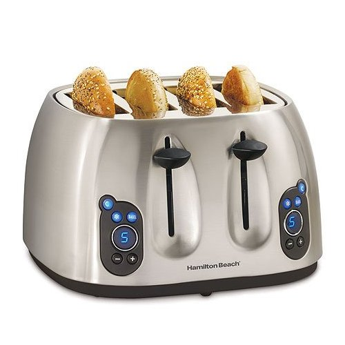 Digital 4 Slice Toaster