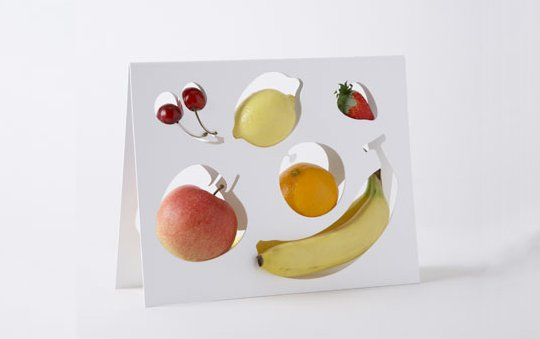 One percent designer fruitbowl