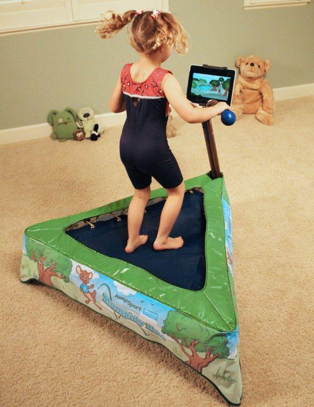 JumpSport iBounce Kids Trampoline Bundle