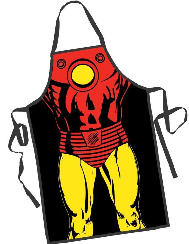Iron Man Be the Hero Apron