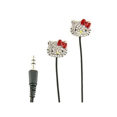 Hello Kitty Bling Earbuds