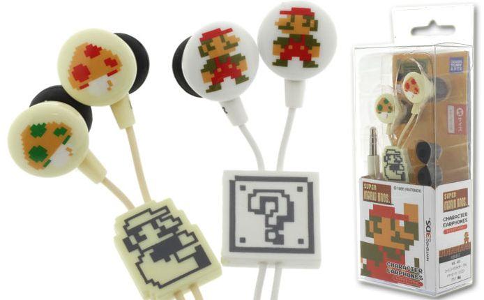 Super Mario Bros. Earphones