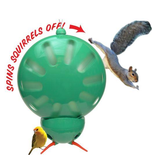 Anti-Squirrel Bird Feeder