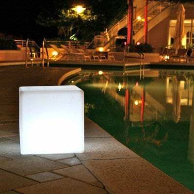 """Outdoor LED Light Cube 17"""""""