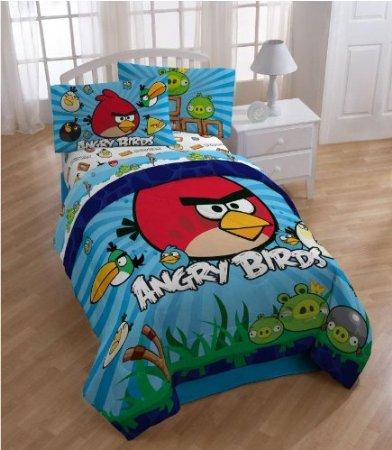 Angry Birds Twin Sheet Set