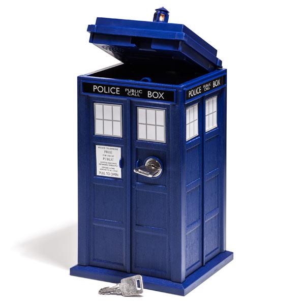 Doctor Who TARDIS Mini Safe
