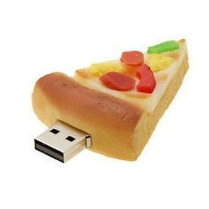 16 GB Cool Pizza Style USB Flash Drive