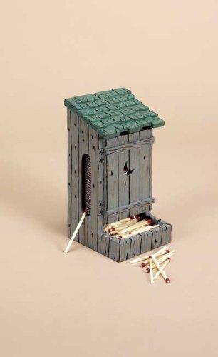 Outhouse Matchbox Holder