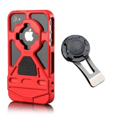 Case Mounting System with Car Mount - Red