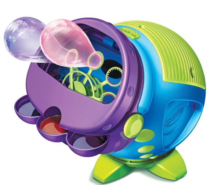 Colored Bubbles Machine