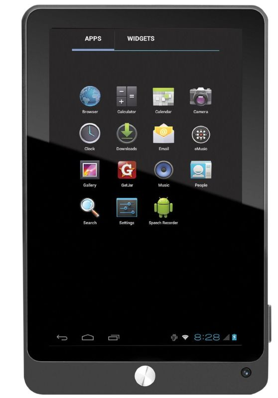 Coby Kyros 7-Inch Android 4.0 4 GB Internet Tablet 16:9 Capacitive Multi-Touch Widescreen