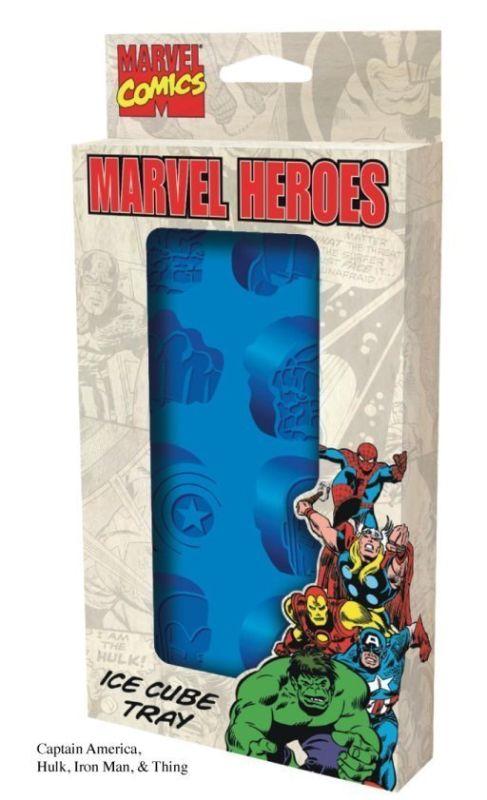 Marvel Comics Heroes Ice Cube Tray