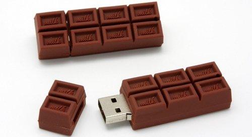 Chocolate Bar USB Flash Drive