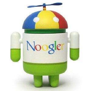 Android Mini Collectible Series 02 Noogler 1/16 Ratio Vinyl Toy Robot Figures