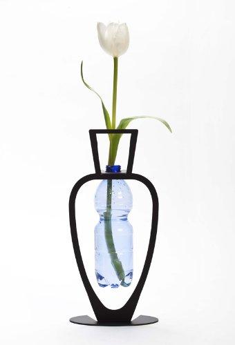 Primavera - Black Novelty Home Decor Eco Friendly Metal Vase