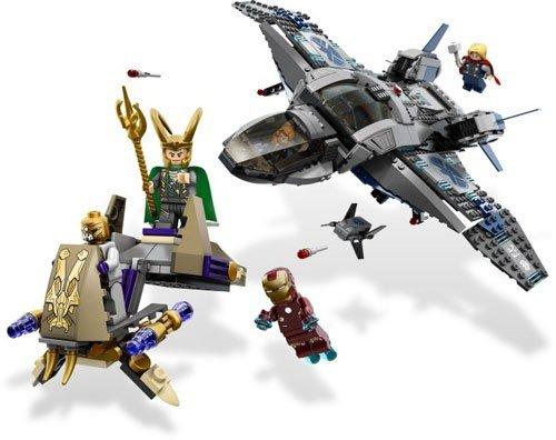 LEGO Quinjet Aerial Battle