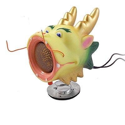 Gino Color Changing Light Cartoon Dragon MP3 MP4 Laptop Speaker