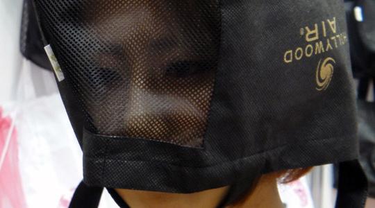 Emergency earthquake hood for head protection