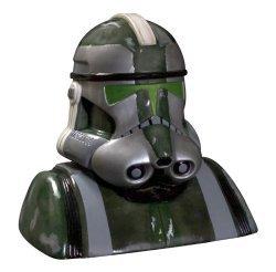 Star Wars Clone Trooper Clone Commander Gree Cookie Jar