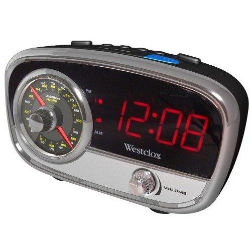 Vintage Antique AM/FM Alarm Clock Radion