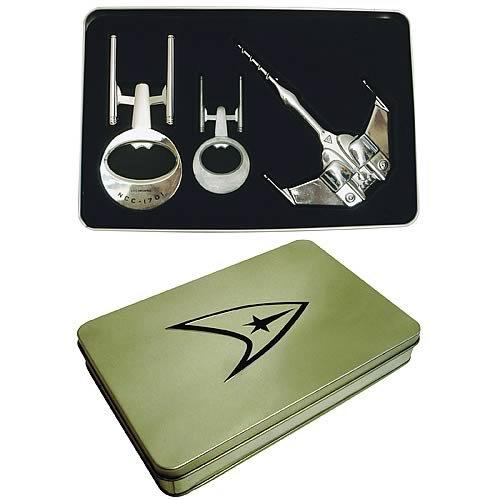 Star Trek Bottle Opener Tin Gift Set