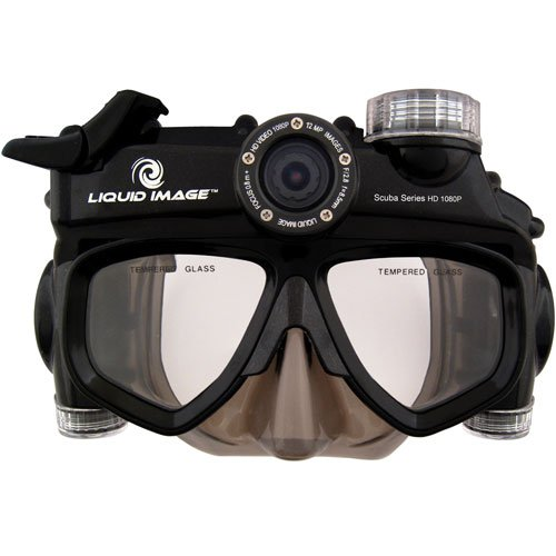 Scuba Series HD 1080P 12MP Camera Mask with Mid-Size Skirt