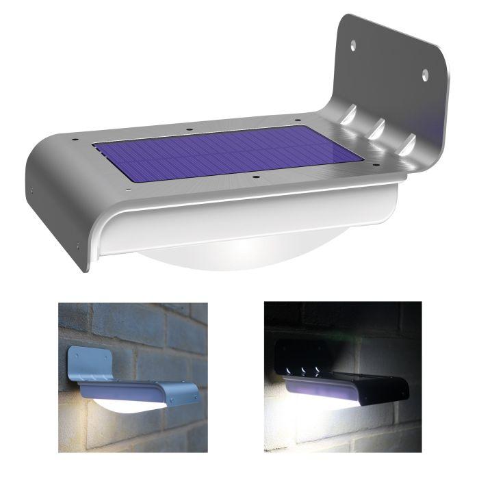LED Wireless Solar Powered Motion Sensor Light