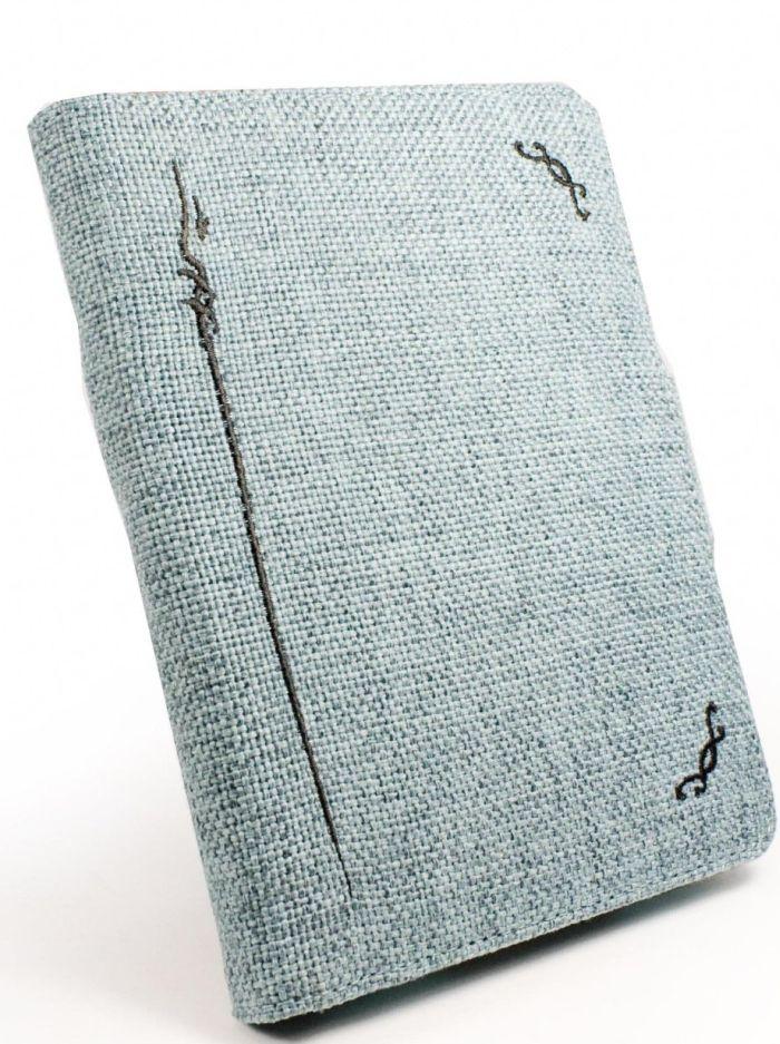 Natural Hemp case cover & LED Spark Light for Amazon Kindle 4