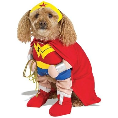 Wonder Woman Pet Costume