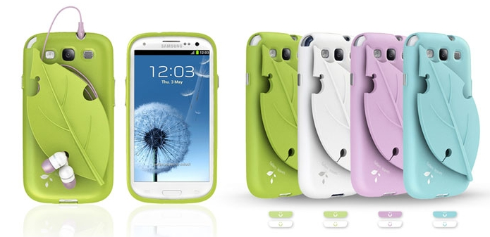 MobC Leaf Cace for Samsung Galaxy S III