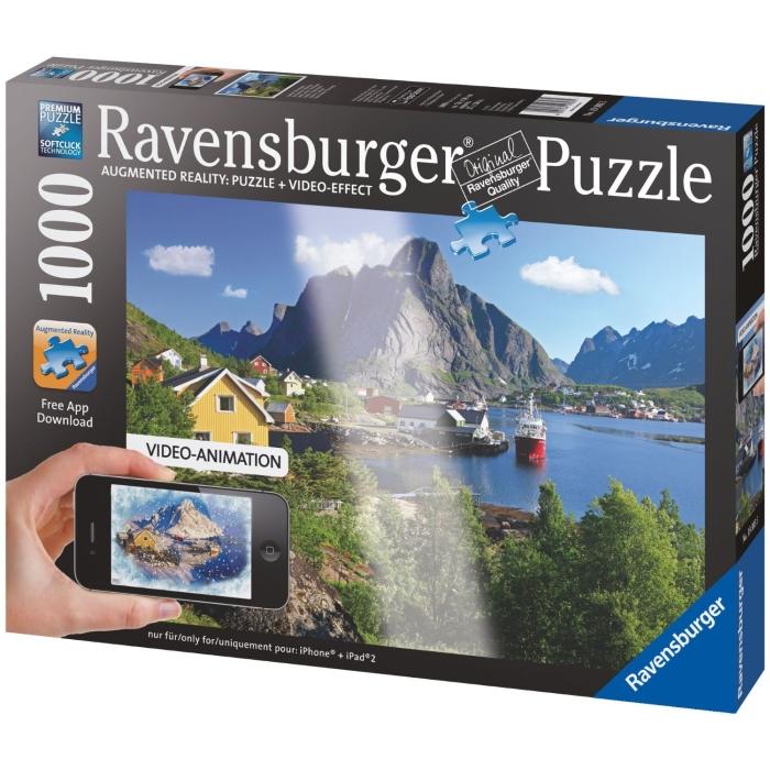 Lofoten, Norway - 1000-Pieces Augmented Reality Puzzle