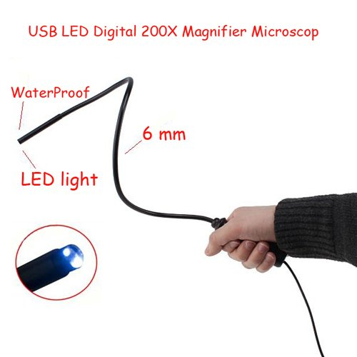 USB LED Digital Magnifier Microscope Endoscope Inspection