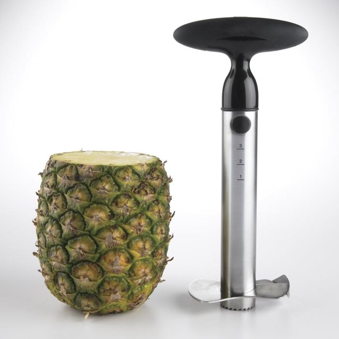 Good Grips Stainless Steel Ratcheting Pineapple Slicer