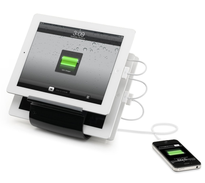 Smart Recharge Station for iPads