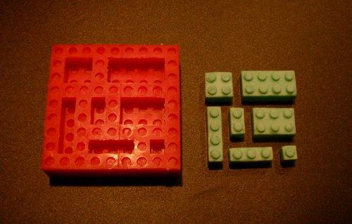 Silicone Mold for Your lego theme cake Flexible