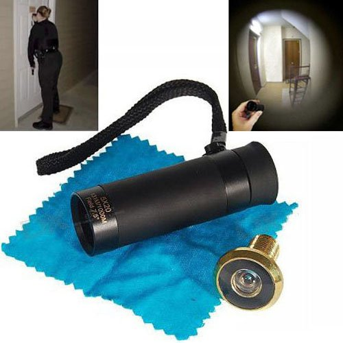 Reverse Door Peephole Viewer with 180 degree vision