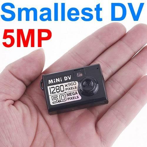 Smallest Mini DV Spy Camera Video Recorder Hidden Cam