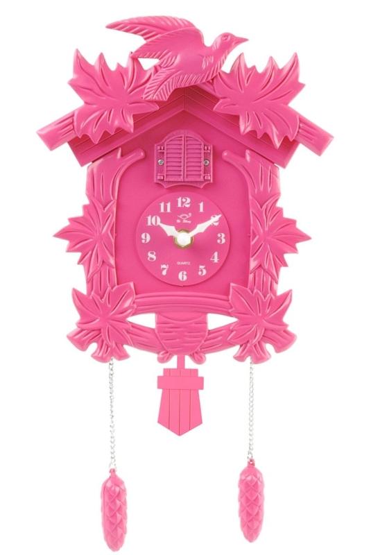 Silly Cuckoo Plastic Wall Clock